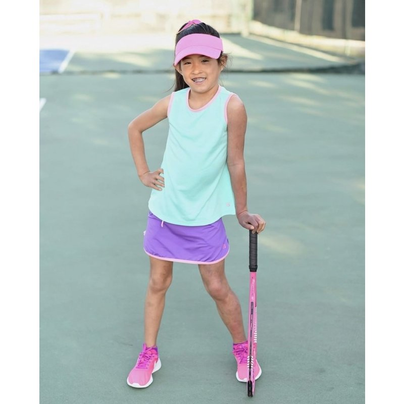 SET Athleisure SET Athleisure Tiffany Purple Tennis Skort