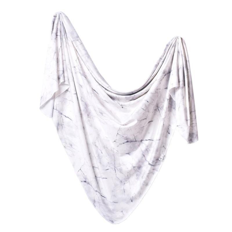 Copper Pearl Copper Pearl Marble Knit Blanket Single