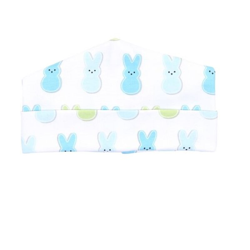 Magnolia Baby Magnolia Baby Peeps Printed Light Blue Hat