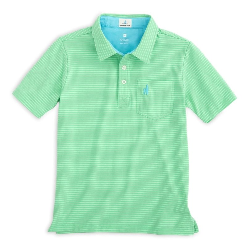 Johnnie-O Johnnie-O Cliffs  Polo Highlighter