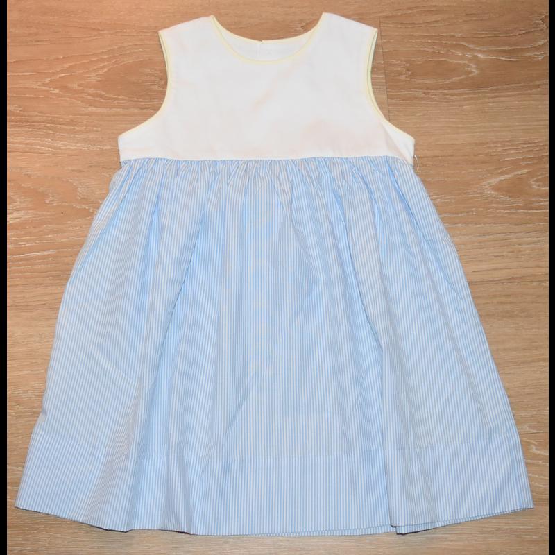 Lullaby Set Lullaby Set Daisy Sleeveless Blue Stripe Dress