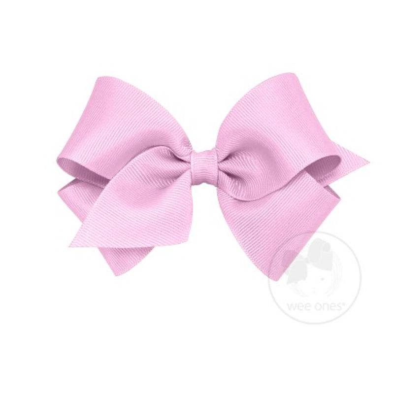 Wee Ones Bows Wee Ones Tulip Solid Grosgrain Bow