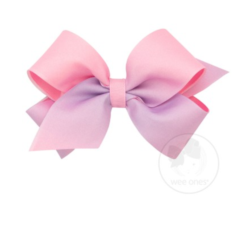 Wee Ones Bows Wee Ones Pearl Ombre Print Bow