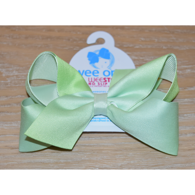 Wee Ones Bows Wee Ones Seafoam Ombre Print Bow
