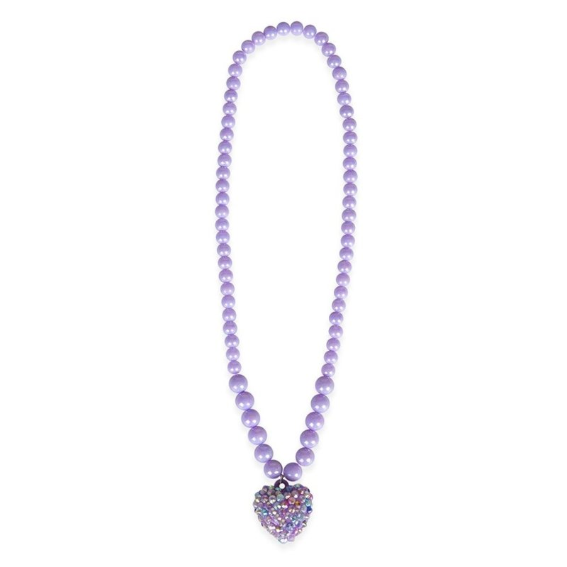 Great Pretenders Great Pretenders Purple Rockin Heart Necklace