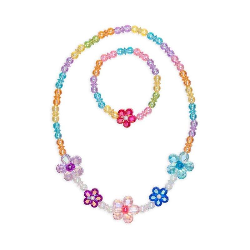Great Pretenders Great Pretenders Blooming Beads Necklace & Bracelet Set