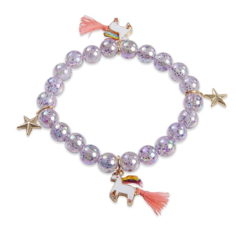 Great Pretenders Great Pretenders Purple Unicorn Star Bracelet
