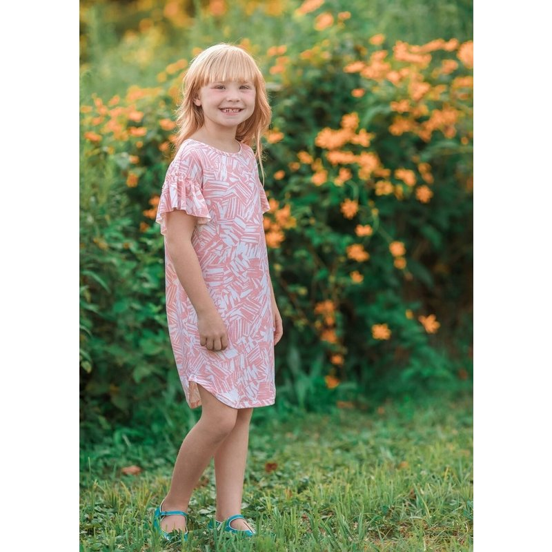 Mabel and Honey Mabel and Honey Bloom in Your Heart Light Pink Dress