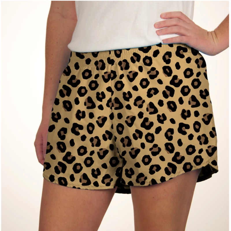 Azarhia Azarhia Steph Shorts in Printed Leopard