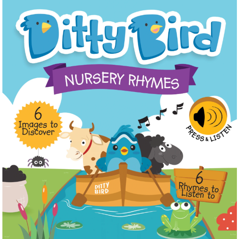 Ditty Bird Ditty Bird Nursery Rhymes Book