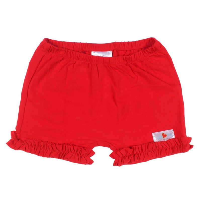 Hide-ees Hide-ees Red with Ruffle