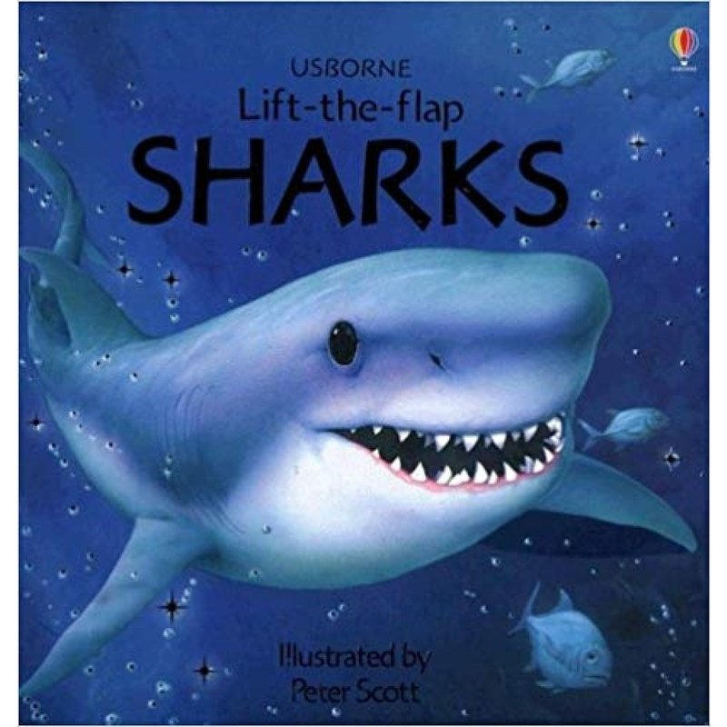 Sharks Lift Flap Book