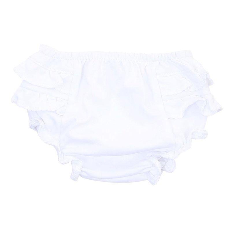 Magnolia Baby Magnolia Baby Essentials White Diaper Cover
