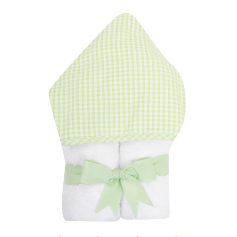 3 Marthas 3 Marthas Green Check Everykid Towel