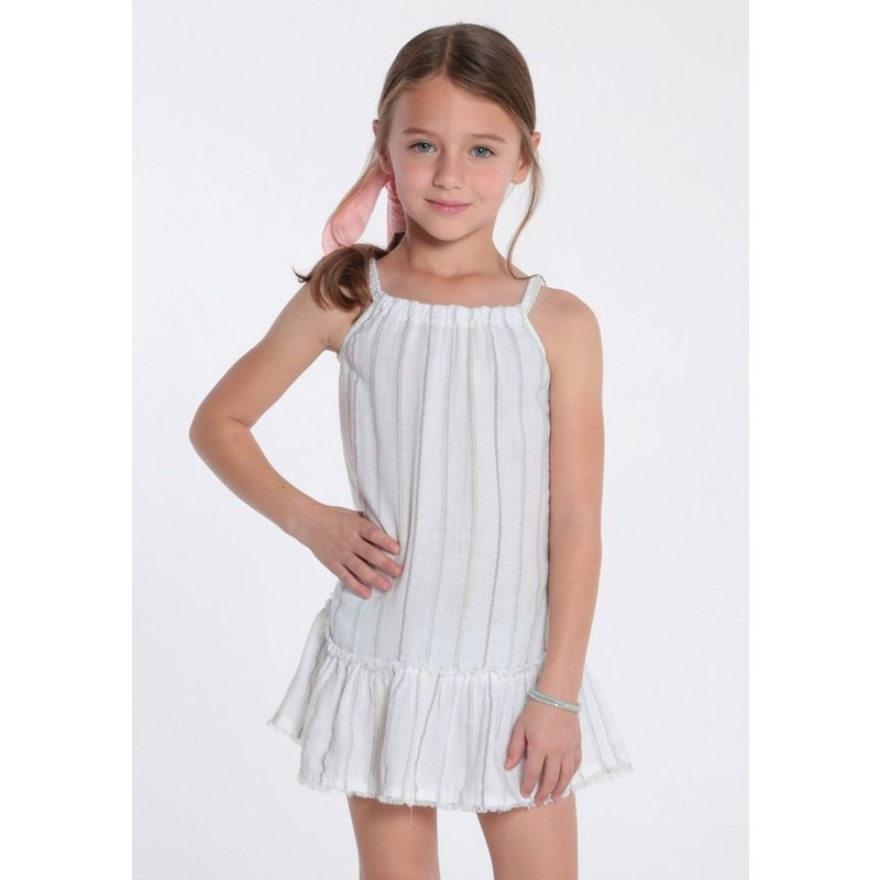 Bella Dahl Bella Dahl Girl Frayed Ruffle Sundress