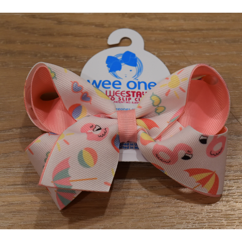 Wee Ones Bows Wee Ones King Beach Print Bow