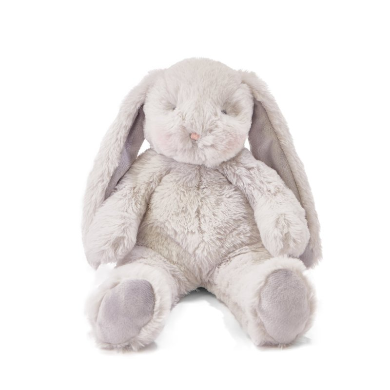 "Bunnies By The Bay Bunnies by the Bay Floppy Nibble 12"" Gray Bunny"