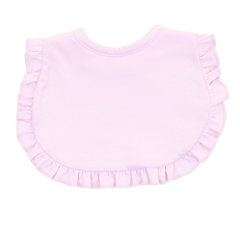 Magnolia Baby Magnolia Baby Essentials Pink Ruffle Bib