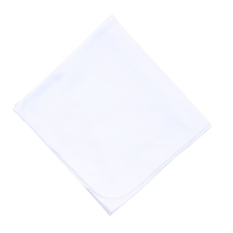 Magnolia Baby Magnolia Baby Essentials White Blanket