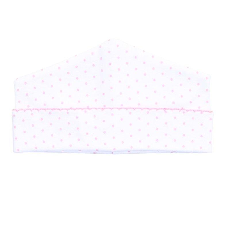 Magnolia Baby Magnolia Baby Pink Mini Dot Essentials Hat