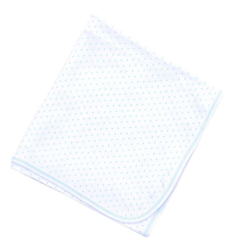 Magnolia Baby Magnolia Baby Light Blue Mini Dot Essentials Blanket