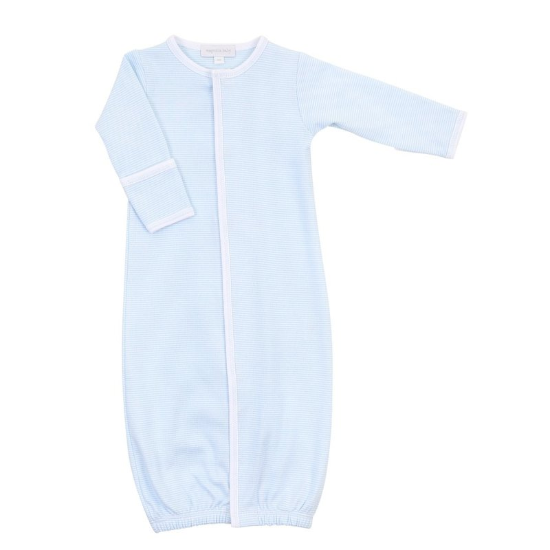 Magnolia Baby Magnolia Baby Light Blue Mini Stripe Essentials Converter