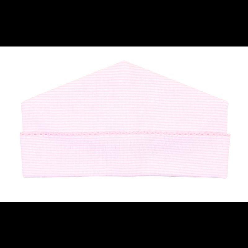 Magnolia Baby Magnolia Baby Pink Mini Stripe Essentials Hat