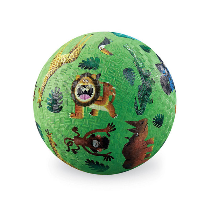 "Crocodile Creek 7"" Very Wild Animals Playground Ball"