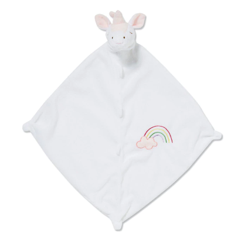Angel Dear Angel Dear White Unicorn Blankie