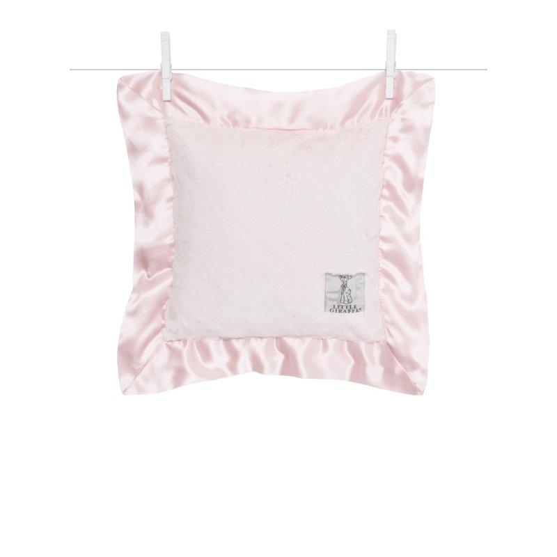 Little Giraffe Little Giraffe Pink Luxe Baby Pillow
