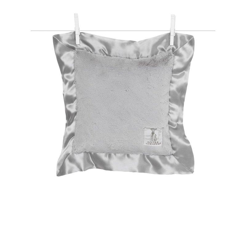 Little Giraffe Silver Luxe Baby Pillow