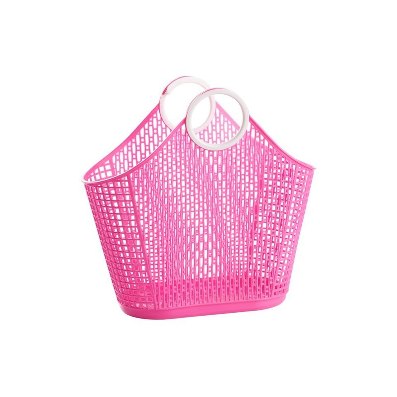 Sun Jellies Sun Jellies Small Hot Pink Fiesta Shopper