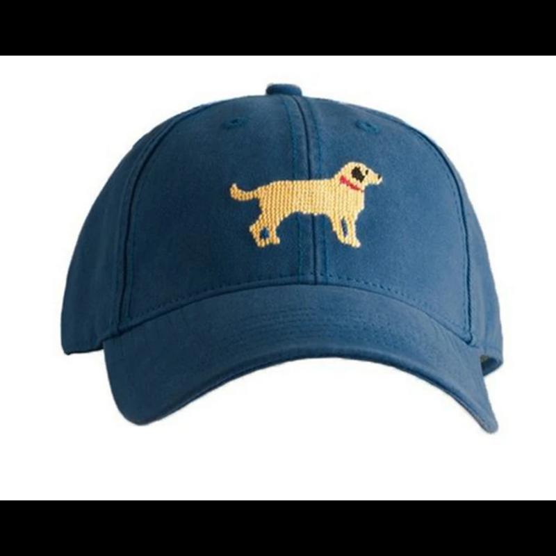Harding-Lane Harding-Lane Yellow Lab on Navy Hat