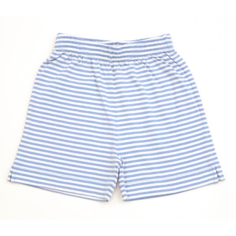 Luigi Luigi Stripe Jersey Shorts