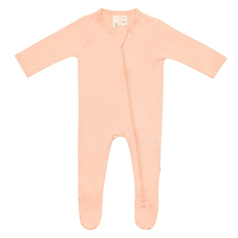 Kyte Baby Kyte Baby Papaya Zippered Footie