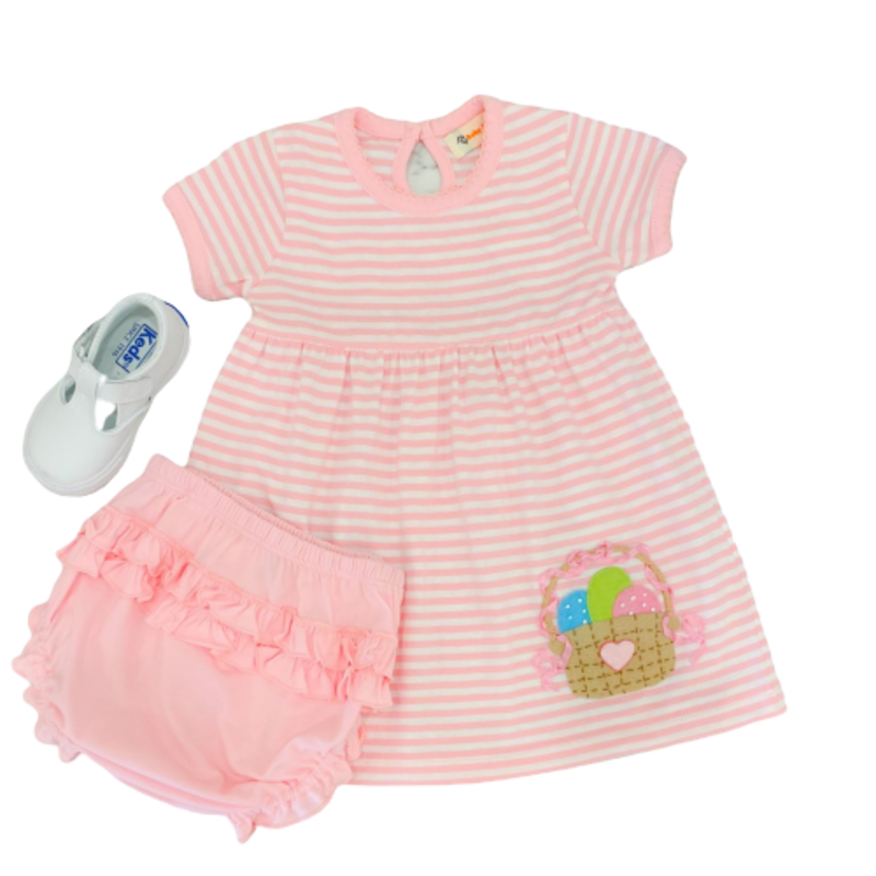 Luigi Luigi Easter Egg Basket Dress Set