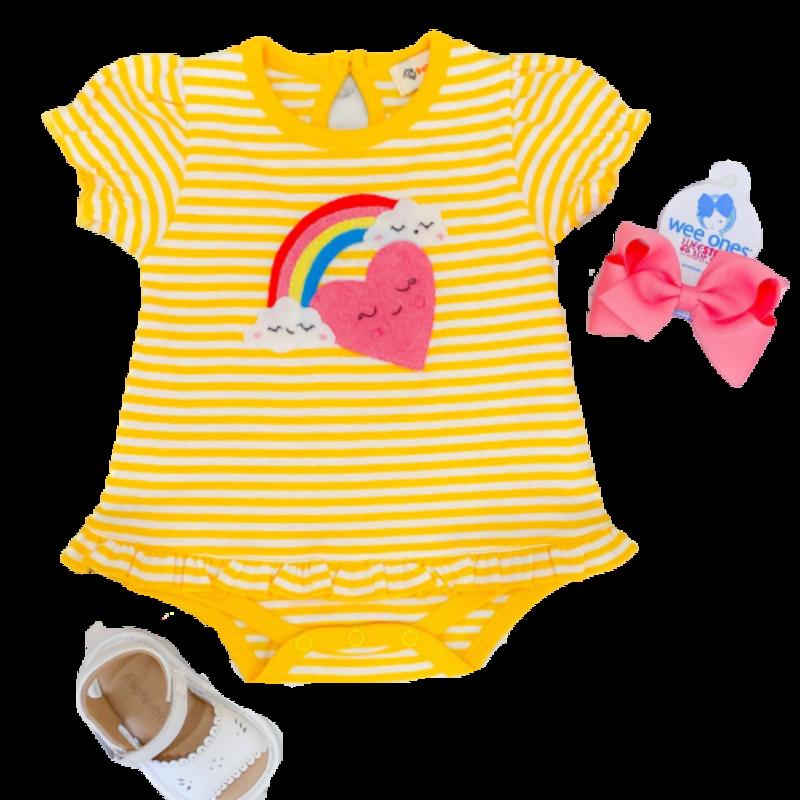 Luigi Luigi Girl's Rainbow Heart Bubble