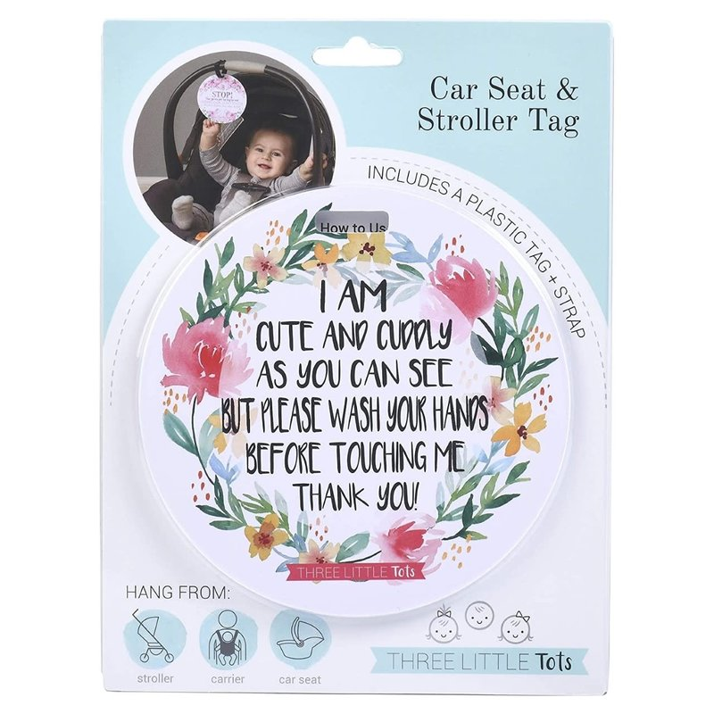 Tags 4 Tots Cute No Touching Tag