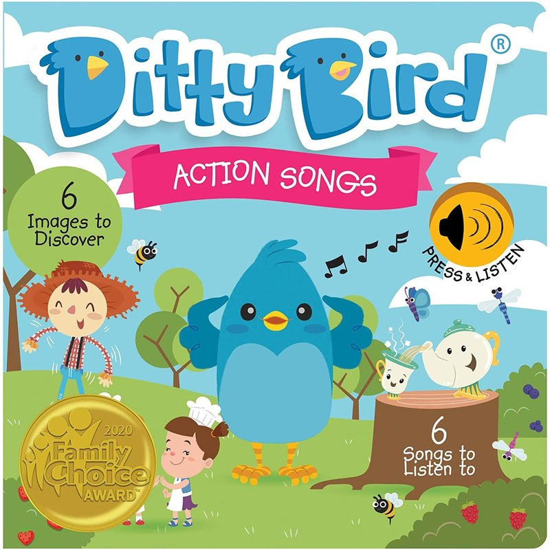 Ditty Bird Ditty Bird Action Songs