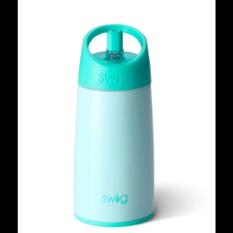 Swig Swig Glossy Seaglass Flip & Sip Bottle 12oz