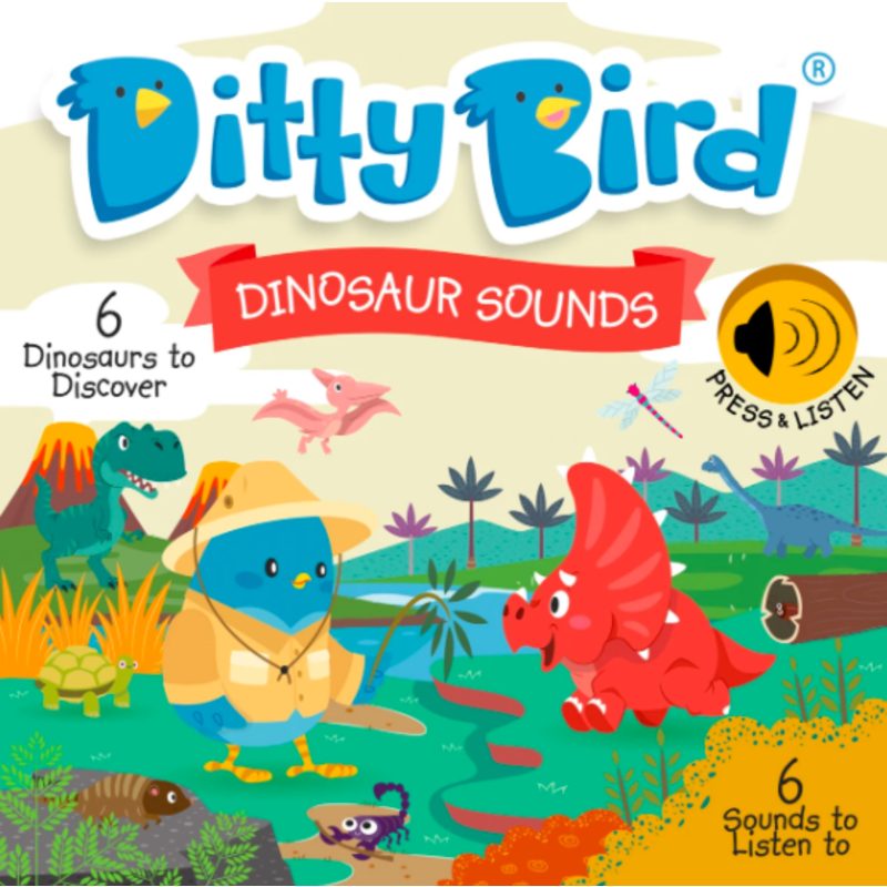 Ditty Bird Ditty Bird Dinosaur Sounds