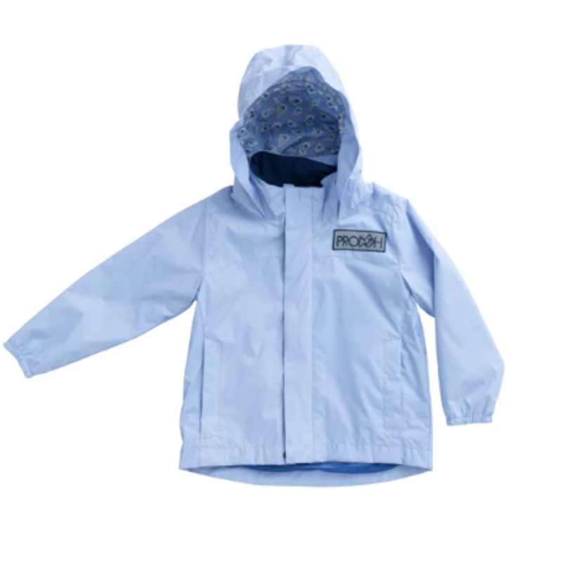 PRODOH Prodoh Water and Wind Reflective Jacket Oyster Lining- Baby Blue Jay