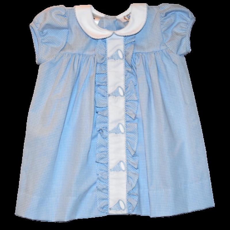 Lulu Bebe Lulu Bebe NC Tarheels Emb Dress