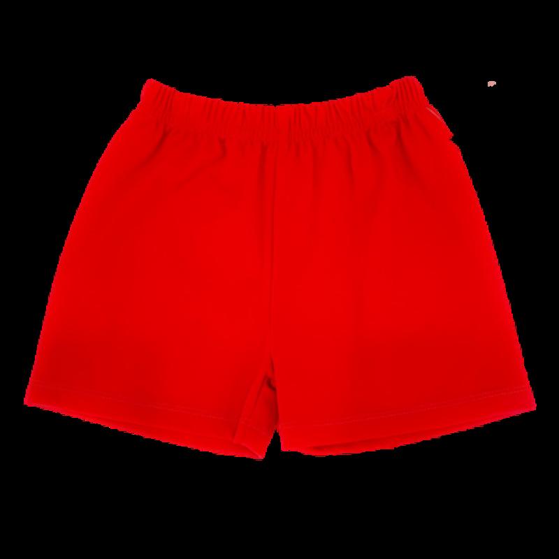 Zuccini Zuccini Boy Elastic Waist Band Red Short