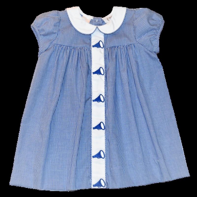 Lulu Bebe Duke Megaphone Emb Dress