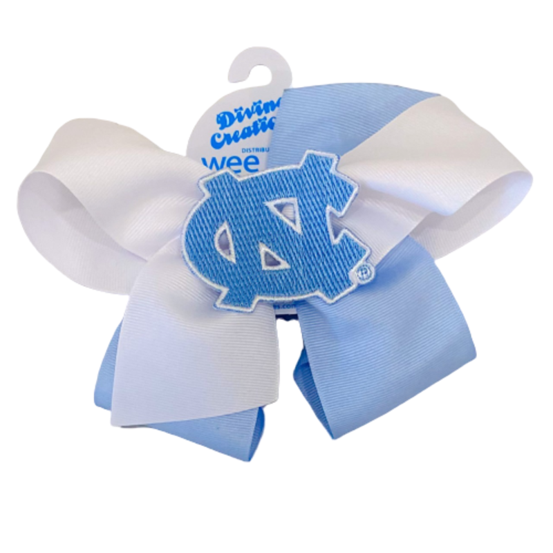 Wee Ones Bows Wee Ones UNC King Two-Tone Bow