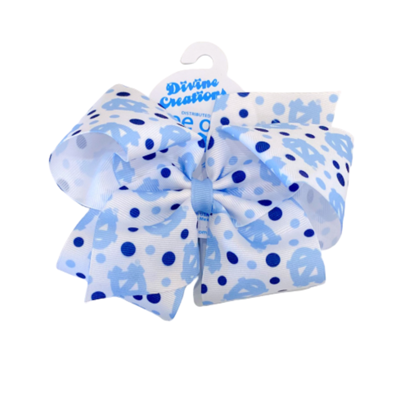 Wee Ones Bows Wee Ones UNC King Print Bow
