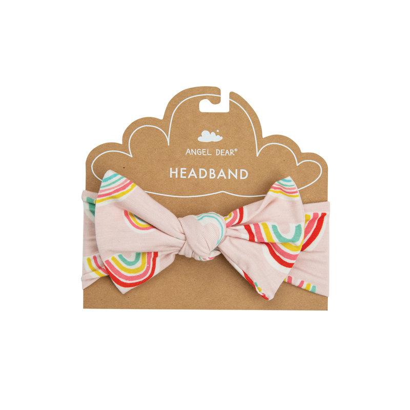 Angel Dear Angel Dear Rainbows Headband Pink