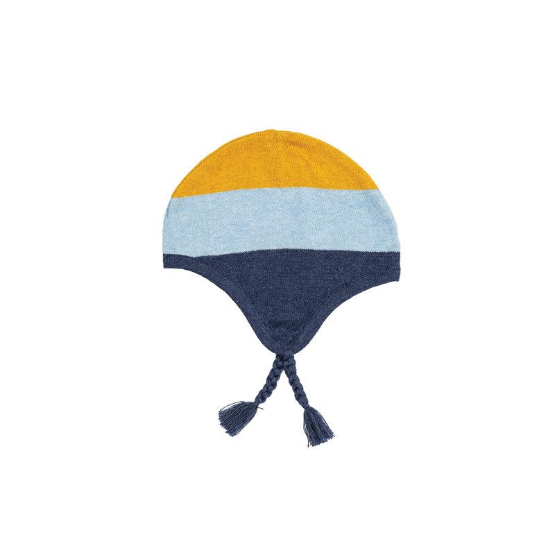 Angel Dear Angel Dear Mountain Pilot Hat Blue Multi