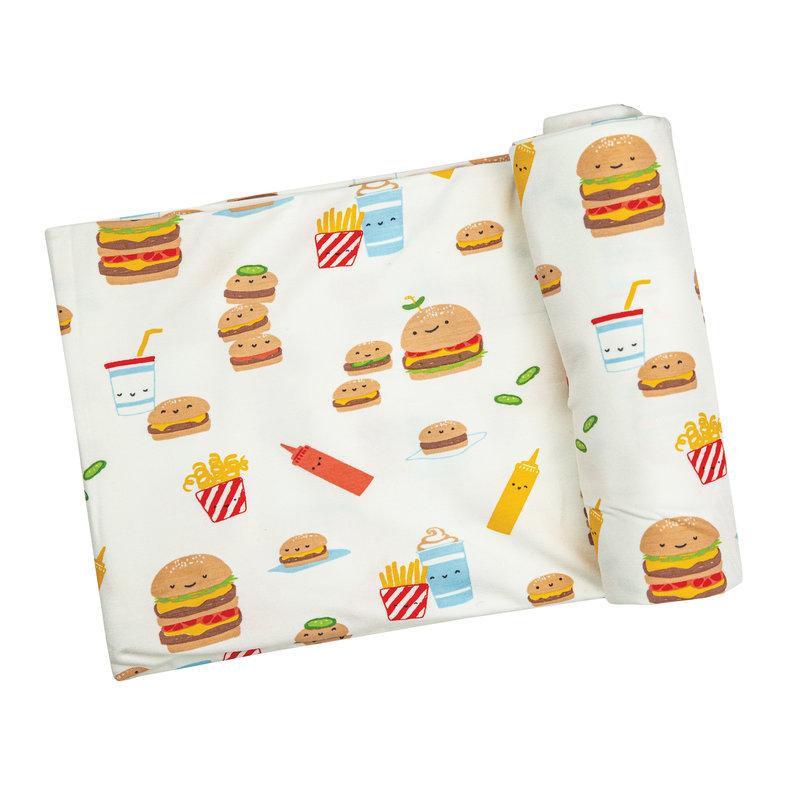 Angel Dear Angel Dear Burger Joint Swaddle Blanket